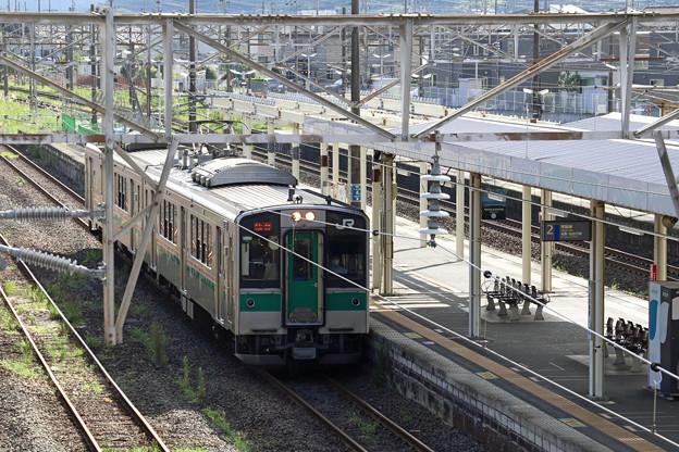 常磐線701系@岩沼駅
