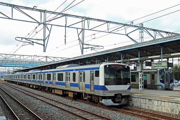 E531系@原ノ町駅