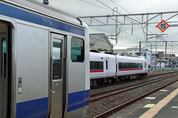 ひたち13号@原ノ町駅