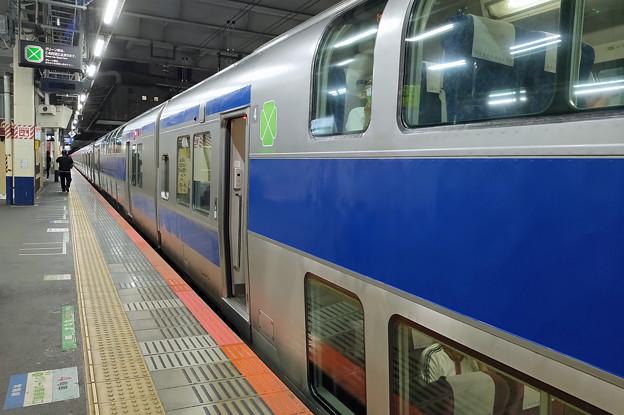 E531系グリーン車@柏駅