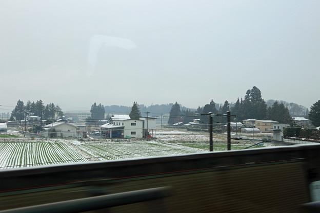 東北新幹線の車窓~一ノ関付近