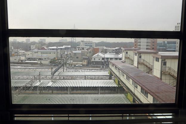 東北新幹線の車窓~盛岡駅