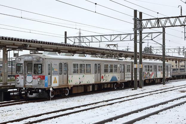 弘南鉄道7000系@弘前駅