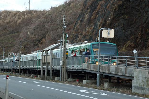 HB-E300@千畳敷駅