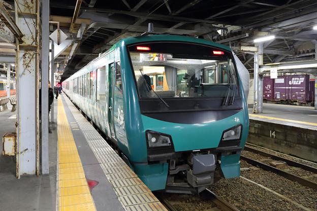 リゾートしらかみ4号@秋田駅