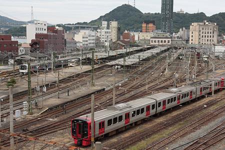 門司港駅の全景