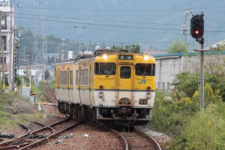 山陰本線東萩駅(キハ47)