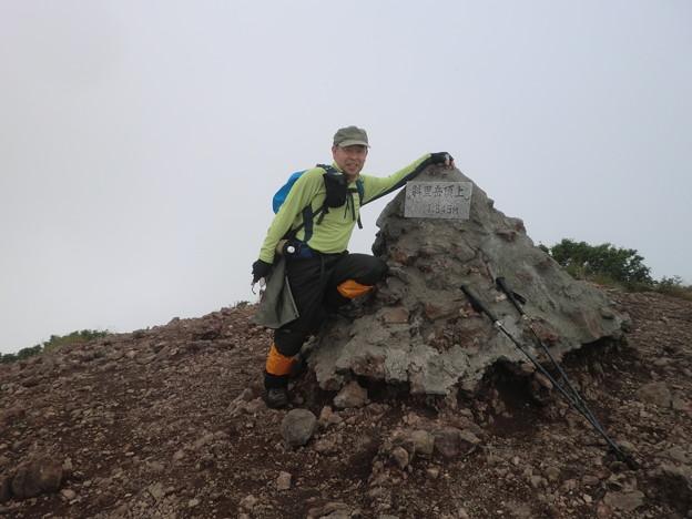 羅臼岳 山頂10時30分