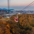 写真: 天狗山の秋