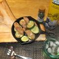 魚肉ソーセージとズッキーニ01