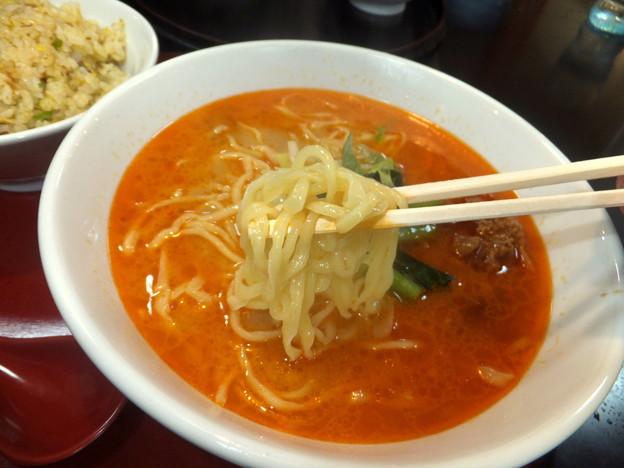 写真: 坦々麺セット 戸田・珍来