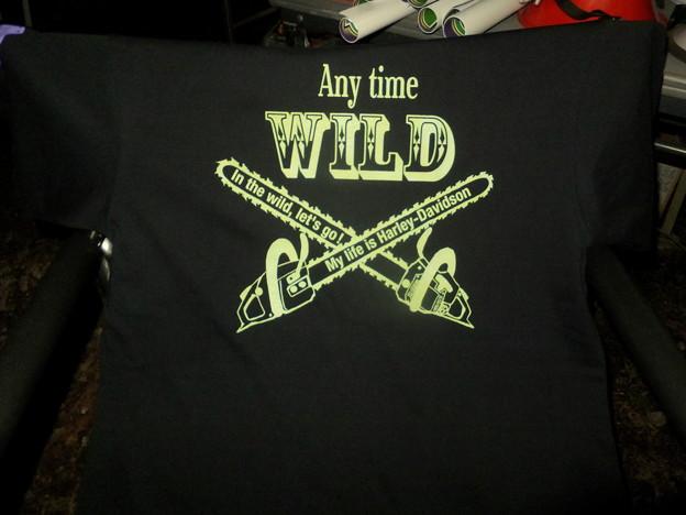 それがTシャツになりました