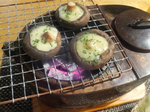 炭火シイタケ