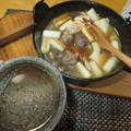 Photos: 鴨なべと酒
