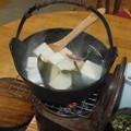 湯豆腐熱々です