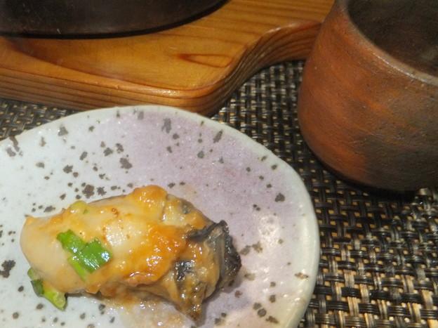 牡蠣の味噌マヨ焼き5