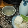 牡蠣鍋と熱燗2
