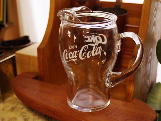 コカコーラのピッチャー