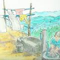 田舎 洗濯01