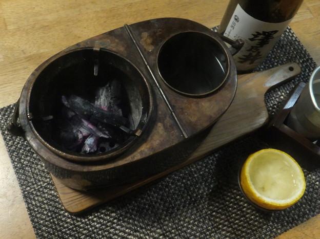 燗銅壺は飛龍