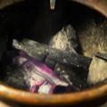 Photos: 炭の加減