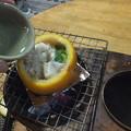 汁が減ったら熱燗を入れる