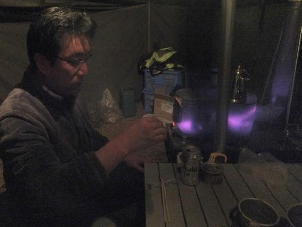 燗銅壺で一杯