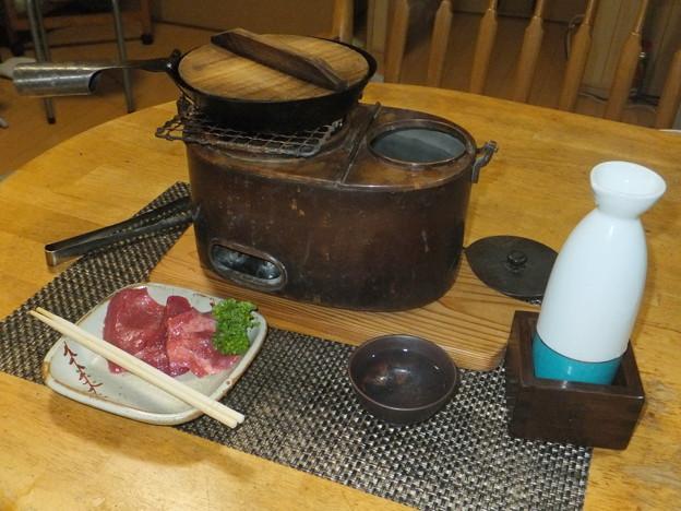 牛タンと熱燗