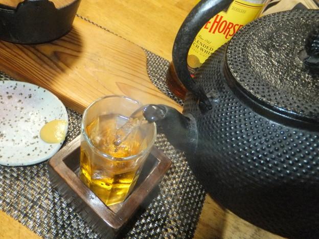 Photos: 鉄瓶お湯割り