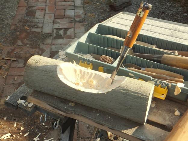 削りやすい木質