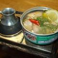 Photos: 缶詰も熱々