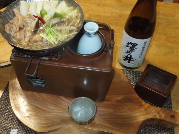 薄鍋と燗銅壺
