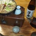 Photos: 薄鍋と燗銅壺