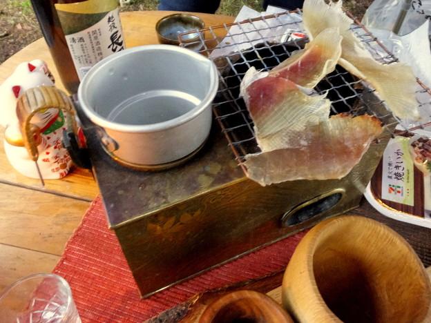 燗銅壺もスタンバイ