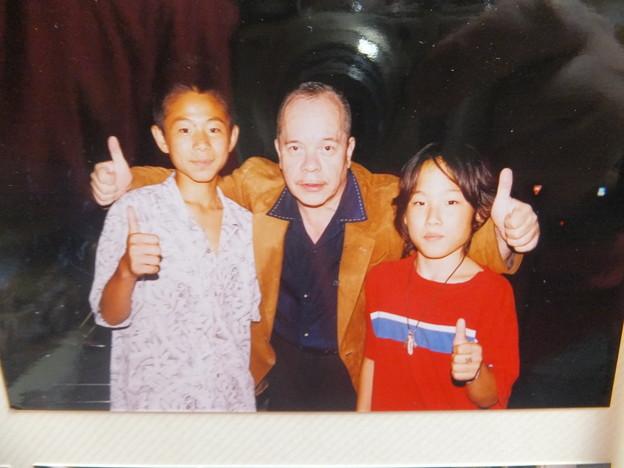 ジェームズ藤木氏と息子たち