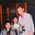 林家正楽師匠と息子たち