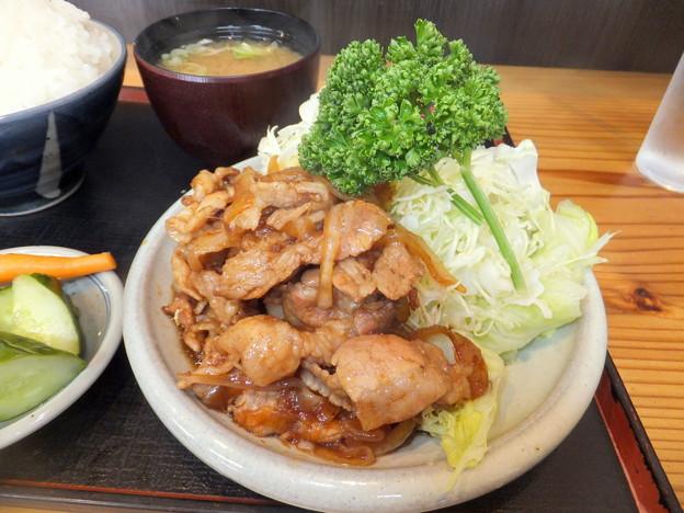 Photos: 丸福の生姜焼き