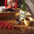 燗銅壺と地酒・牧水