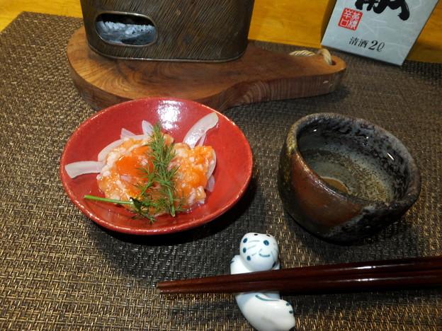 紅鮭の麹漬け