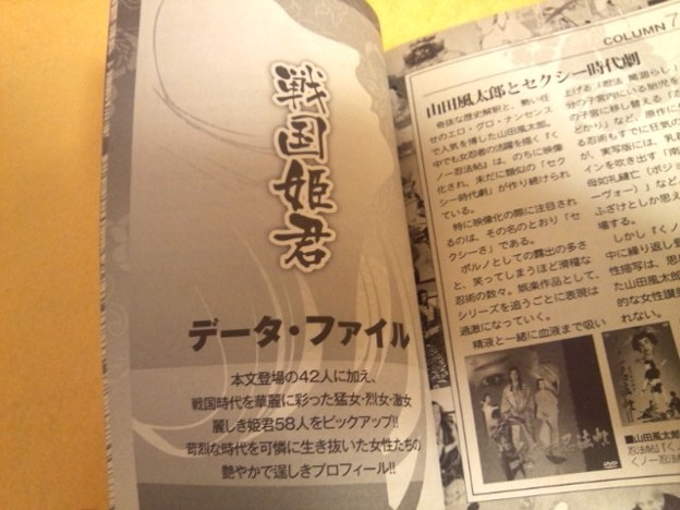 Photos: 『戦国姫君データファイル』戦国激女100人伝  歴史 本