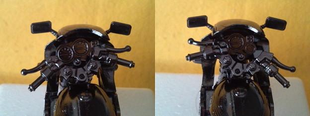 Photos: ハンドル左右に切れます。
