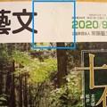 常陽藝文 2020年9月号 表紙傷み部分