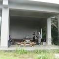 Photos: 富幕山今朝の山頂休憩舎