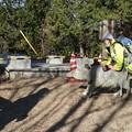 Photos: 猪の平展望台改修現場撮影許可済み