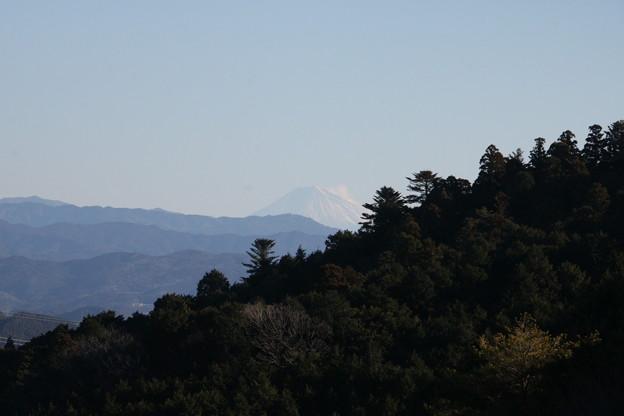 パノラマから富士山