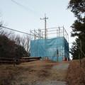 Photos: 富幕山猪の平展望台改修工事現場