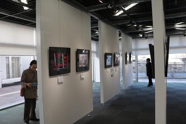 A)さんが・・みをつくし文化センターで写真展をやってるといったので見て回りました。