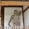 Photos: 寺門の金剛力士 開口の阿形(あぎょう)像