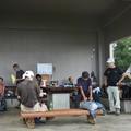Photos: 今朝の富幕山休憩舎
