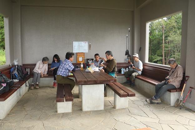 富幕山山頂休憩舎20189年「令和元年」9月22日
